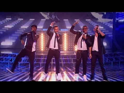 The Risk get ready, tonight... - The X Factor 2011 Live Show 5 (Full Version)