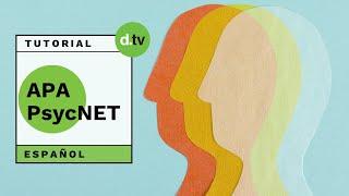 DOTLIB - APA PsycNet (Español) - Tutorial