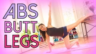 Crazy Abs, Butt & Legs Workout | POP Pilates