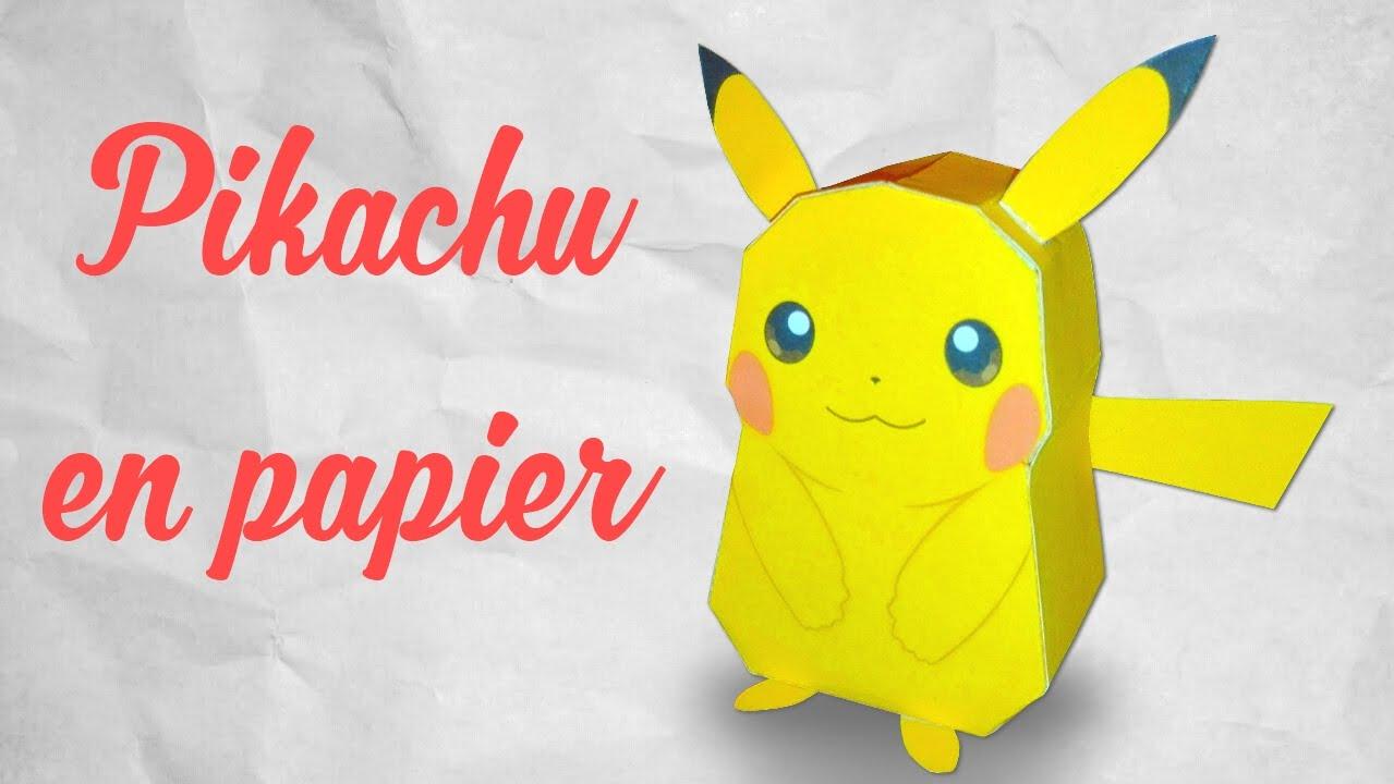 Papercraft Pikachu De Pokemon GO