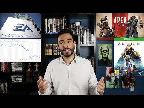 EA Stock Drops As Apex Legends Loses Steam