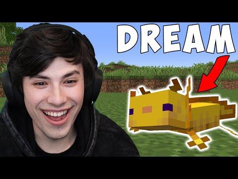 Minecraft, But My Friend Is An Axolotl...