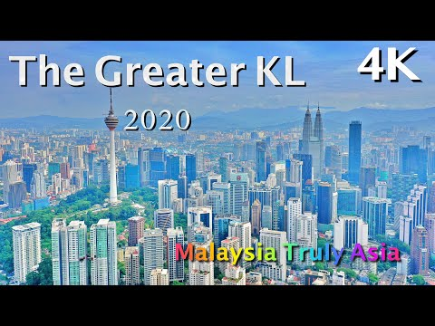 The Greater KL - 2020 // Beauty of Malaysia Kuala Lumpur Klang Valley 4K Drone Aerial Scenic PJ KLCC