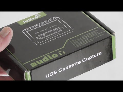 ReSHow USB Cassette Capture