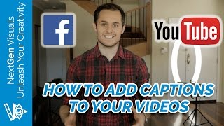 How To Add Captions to Your Facebook Videos (Subtitles on YouTube & Facebook)