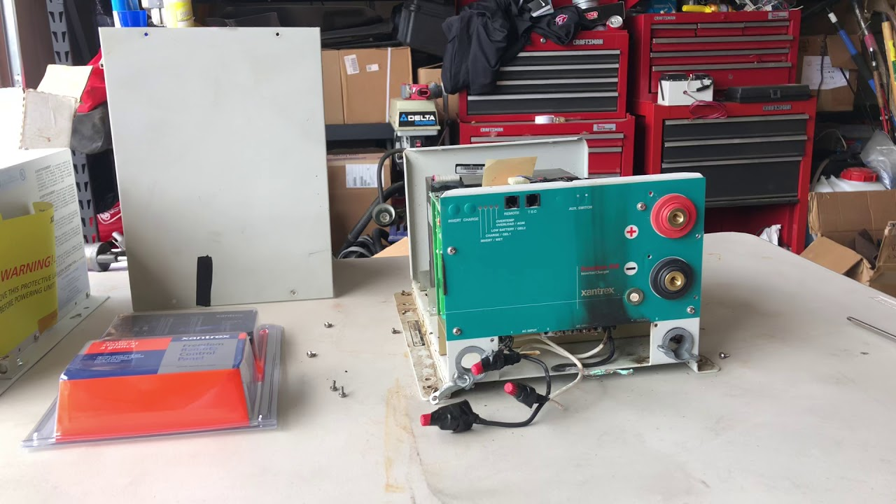 small resolution of xantrex freedom 458 inverter charger fail