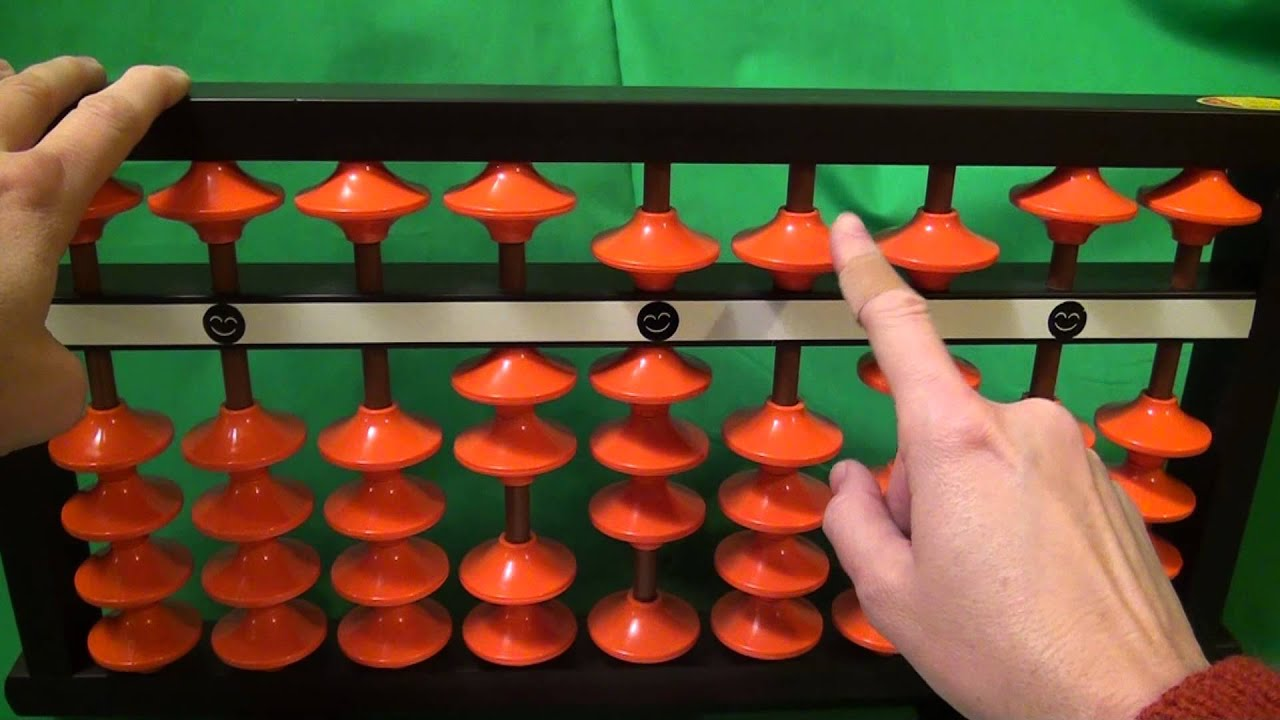 How To Multiply Using A Soroban Japanese Abacus