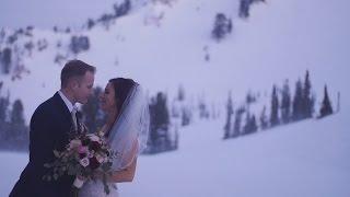 A Snowbasin, UT Wedding Film
