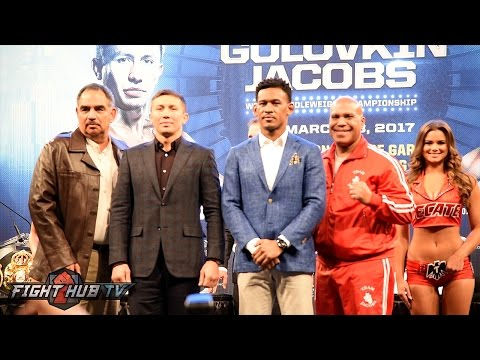 Gennady Golovkin vs. Daniel Jacobs Full New York Kickoff Press Conference video