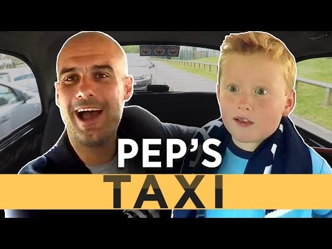PEP'S TAXI | When Guardiola Met Braydon