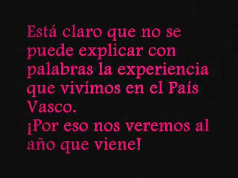 Intercambio Musical ''Madrid-País Vasco''