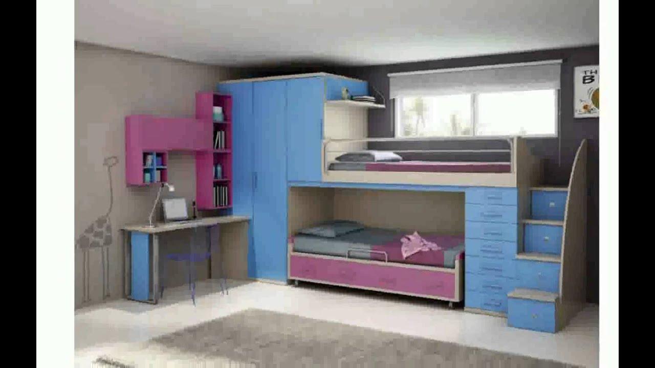 Cama alta con armario debajo dormitorio juvenil con cama - Cama armario debajo ...