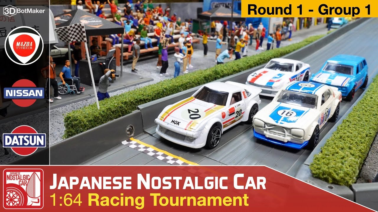 Japanese Nostalgic Car Tournament (Round 1 Group 1) JDM Racing