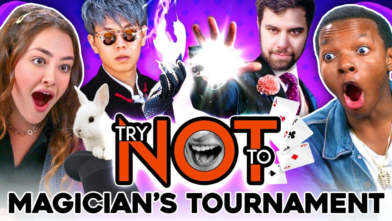 Try Not To Say WOW Challenge: Magician VS. Magician Tournament
