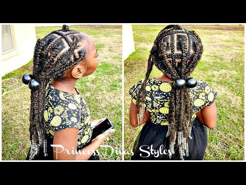 Quick Easy Box Braid Hairstyle thumbnail