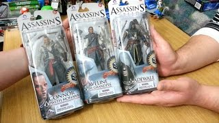 McFarlane - Assassin's Creed Series 2 Mohawk Connor, Aveline & Adèwale - Figure Review