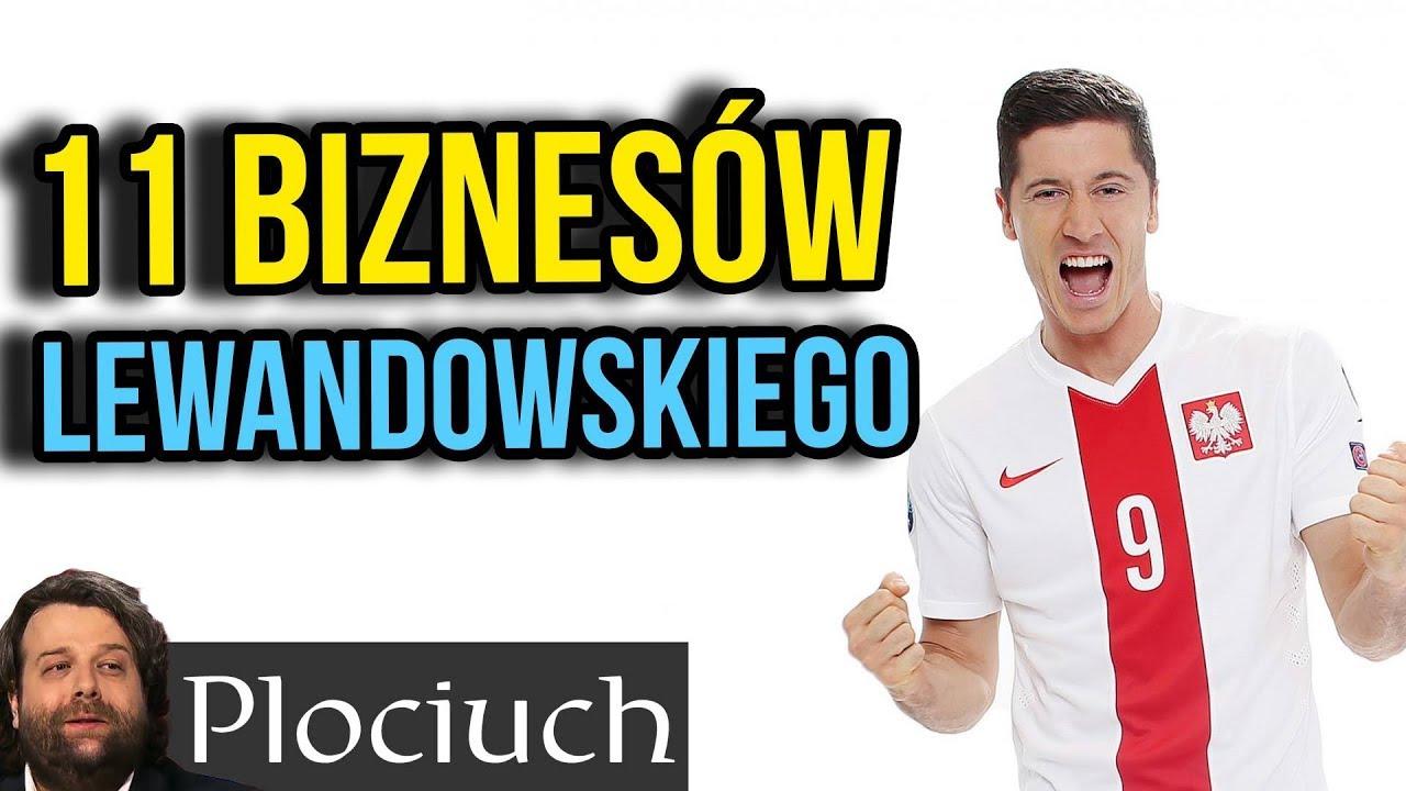Firmy i Biznesy Roberta Lewandowskiego – Geniusz Biznesowy Polskiego Mistrza Piłki Nożnej