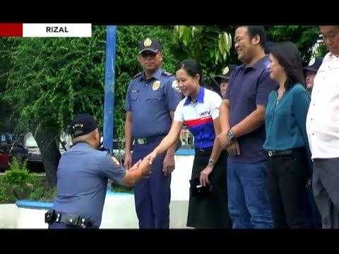 Ilang grupo at indibidwal, binigyang-pagkilala ng Rizal PNP
