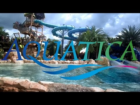 Aquatica Orlando Tour & Review with Ranger