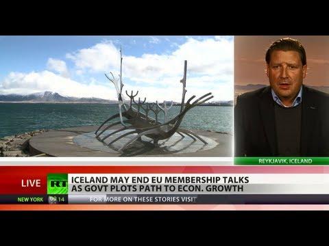 Brushing Brussels Off: Iceland may drop bid for EU membership