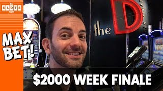 ✊ SOLID Finish ➡ High Limit 💰 $2000 @ The D Las Vegas ✪ BCSlots (S. 2 • Ep. 5)