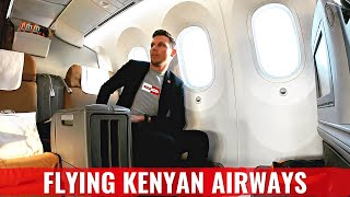 Review: KENYA AIRWAYS 787 Business Class - BEST AFRICAN AIRLINE?