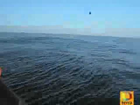 UFO DIVES UNDERWATER! RECORDED IN SPAIN