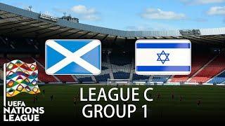Scotland vs Israel - 2018-19 UEFA Nations League - PES 2019