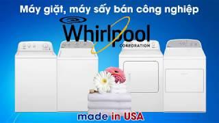 Máy giặt, máy sấy quần áo Whirlpool USA - 15Kg