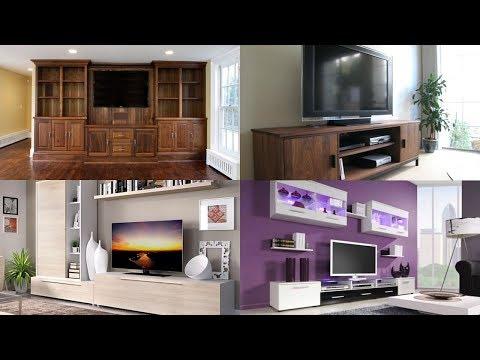 Wall mounted tv cabinet design ideas  || Modern living room designs