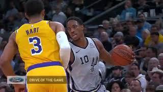 Best of the San Antonio Spurs!   2018 19 NBA Season f135