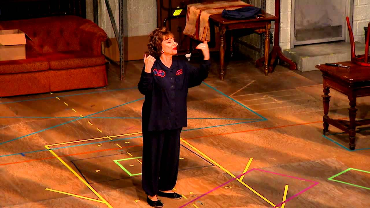 Patti LuPone's curtain speech