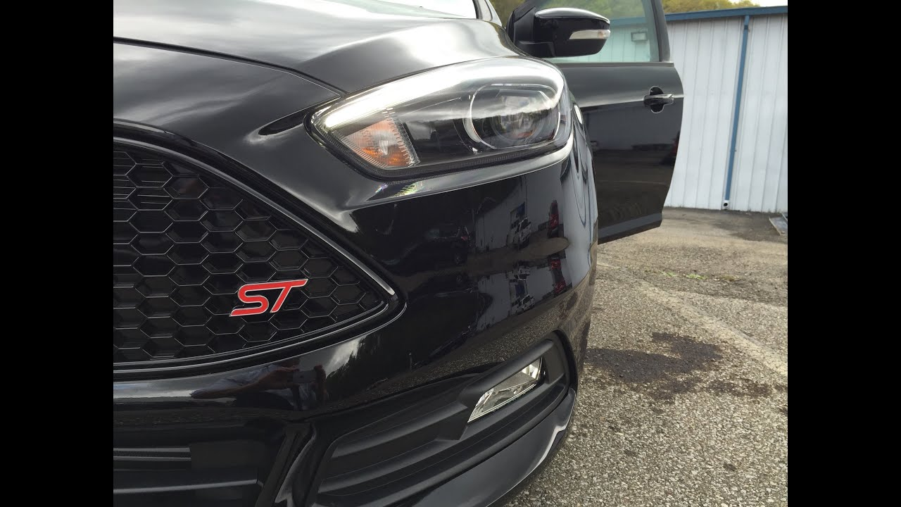 2016 ford focus st review and road test st3 recaro package as we wait for the focus rs youtube. Black Bedroom Furniture Sets. Home Design Ideas