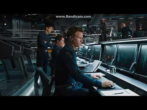 Avengers (2012) Helicarrier Scene