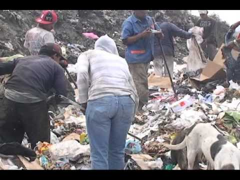 reportaje gente de la basura