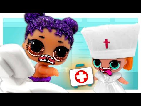 😡 ¡Mi BEBÉ LOL ODIA las VACUNAS! ► 🌙 Novelas con muñecas y juguetes