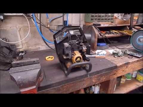 Junk yard McCulloch blower repair