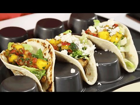 Quick Fix Spicy Grilled Chicken Tacos | Southern Living