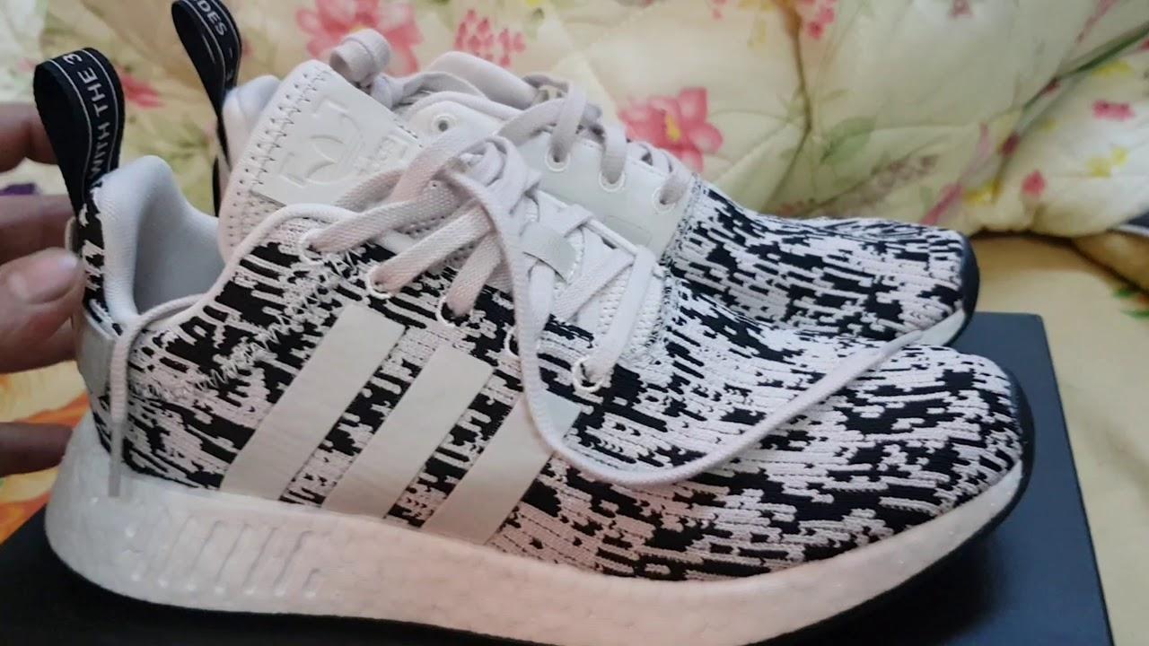 Adidas nmd originale xr2 oreo unboxing / in piedi su youtube
