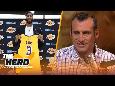 LeBron & Lakers will give AD a chance to solidify he's a Top 5 player — Gottlieb | NBA | THE HERD