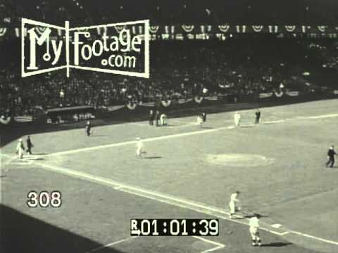"Stock Footage - ""Gashouse Gang"" Cardinals vs Cubs, Opening Day, St. Louis, 1930"