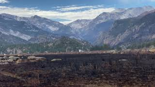 Nov 3 - Fireline Tour Moraine Park Rocky Mountain National Park East Troublesome Fire Thompson Zone