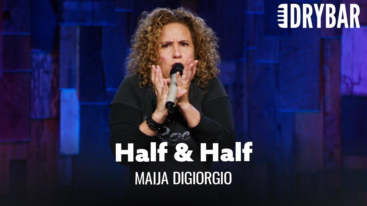 Half Black, Half Italian. Maija DiGiorgio