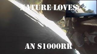 2015 S1000RR - GoPro Gravel Rash - Chase Cam - Abusing Nature