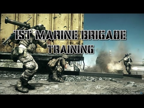 1st Marine Brigade Monthly Training.