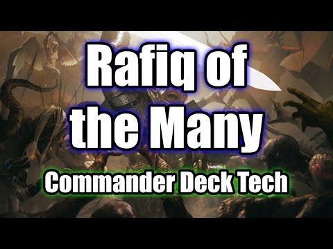 Rafiq of the Many Voltron/Tribal Commander/EDH Deck Tech MTG