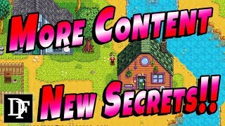 Pams New House And Hidden Secrets! More Content! - Stardew Valley 1.3