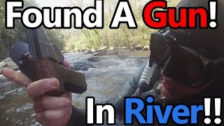 River Treasure #25: I Found a Gun!!!! (9mm luger), Camera, 2 Phones, Raybans and MORE!!!