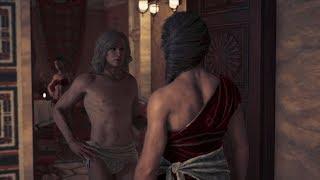 Assassin's Creed Odyssey Alkibiades Romance (Kassandra)