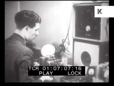1930s UK Technology, Radio, Women Factory Workers